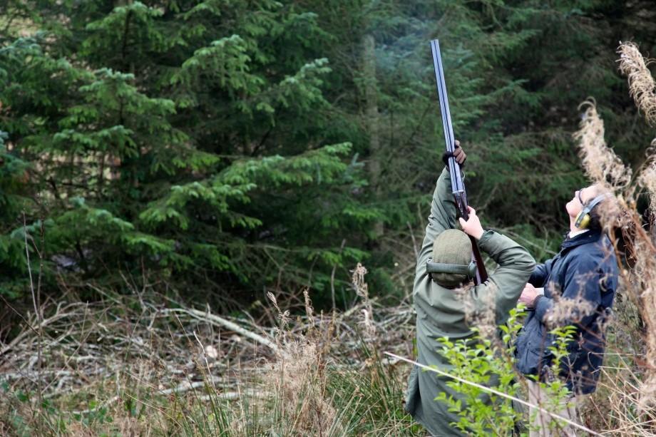 Clay Shooting with Bisley Shooting